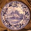 Wedgwood Transferware Souvenir Plate - The Lamb Tavern Boston