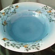 Royal Copenhagen Faience Centerpiece Bowl by Ellen Malmer