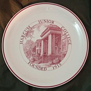 Wedgwood Queens Ware Harcum Junior College Plate