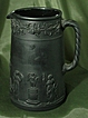 Wedgwood Black Basalt Upright Jug