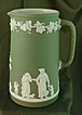 Wedgwood Jasperware Sage Green Upright #12 Jug