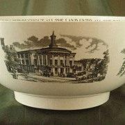 SOLD Wedgwood Queen's Ware Philadelphia Punch Bowl