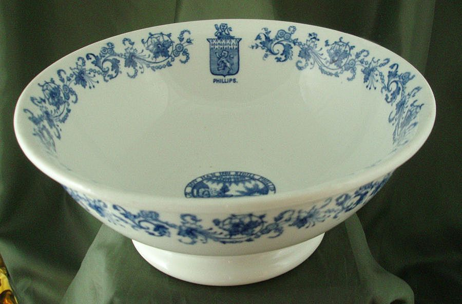 Lamberton China Phillips Exeter Vegetable Bowl