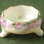Lenox Belleek Hand-Painted Open Master Salt