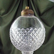 Westmoreland English Hobnail Ball-Style Electric Lamp Base