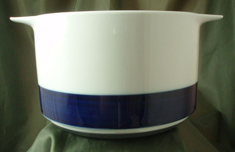 Thomas China Brushed Cobalt Tall Open Casserole