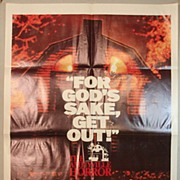 The Amityville Horror Original One-Sheet Poster