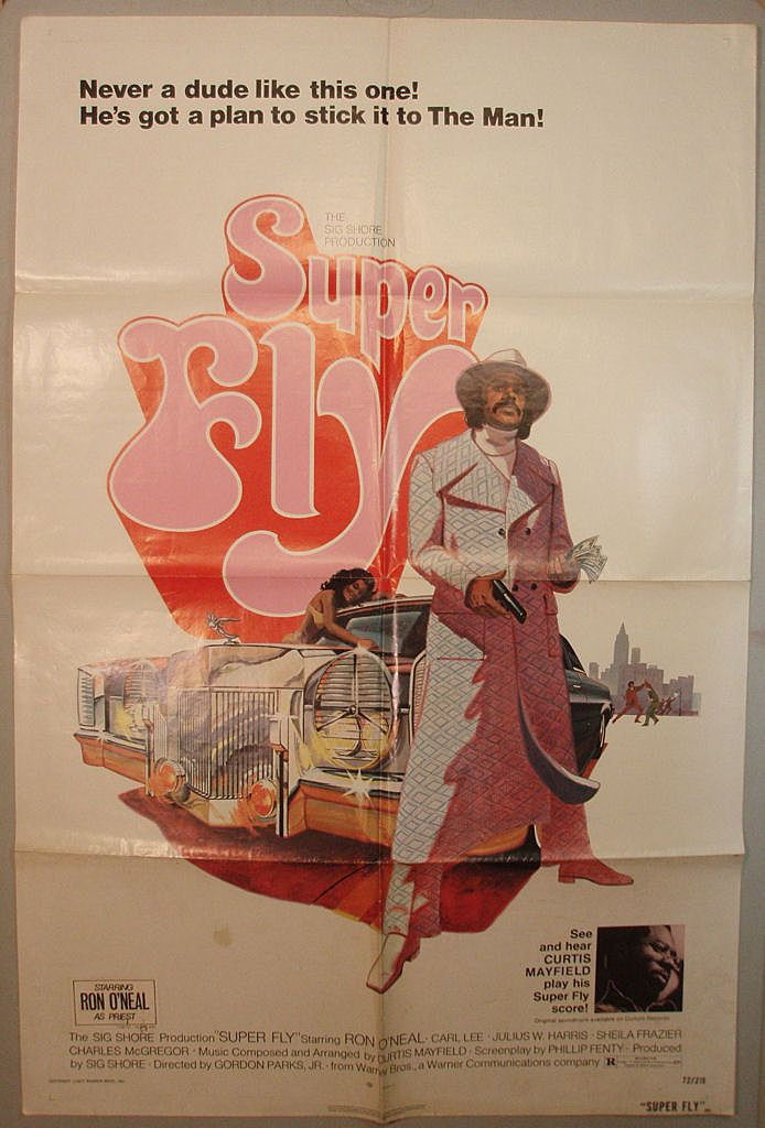 Super Fly Original One-Sheet Theatrical Poster