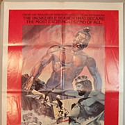 Jason and the Argonauts Original Theatrical Poster (1978 Re-release)