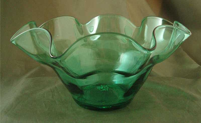 Blenko Sea Green #3716 Bowl