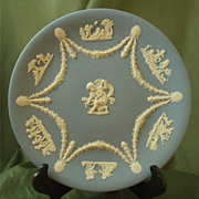 Wedgwood Light Blue Garland Cake Plate