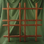 Early and Large Dansk JHQ Teak Trivet