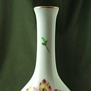 Herend Hand-Painted Miniature Bud Vase