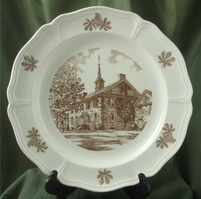 Wedgwood Germantown Academy Plates