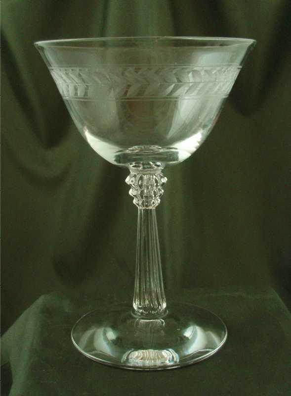 Fostoria Laurel Champagne Glasses