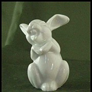Rosenthal Porcelain Miniature Laughing Rabbit Figurine