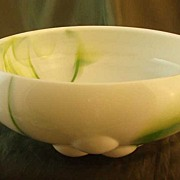 Westmoreland Green Marble Three Ball Bowl