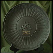 Wedgwood Black Basalt Infant Academy Plate