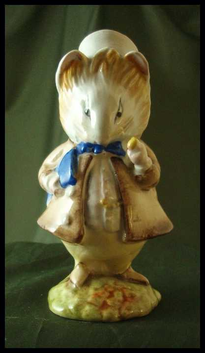 Beswick Pottery Beatrix Potter Amiable Guinea Pig Figurine
