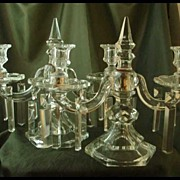 Duncan Miller #320 Two-Light Candelabra - Pair