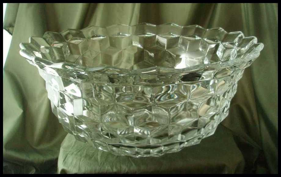 Fostoria American Large Punch Bowl