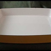 Dansk Kobenstyle Yellow Baking Pan