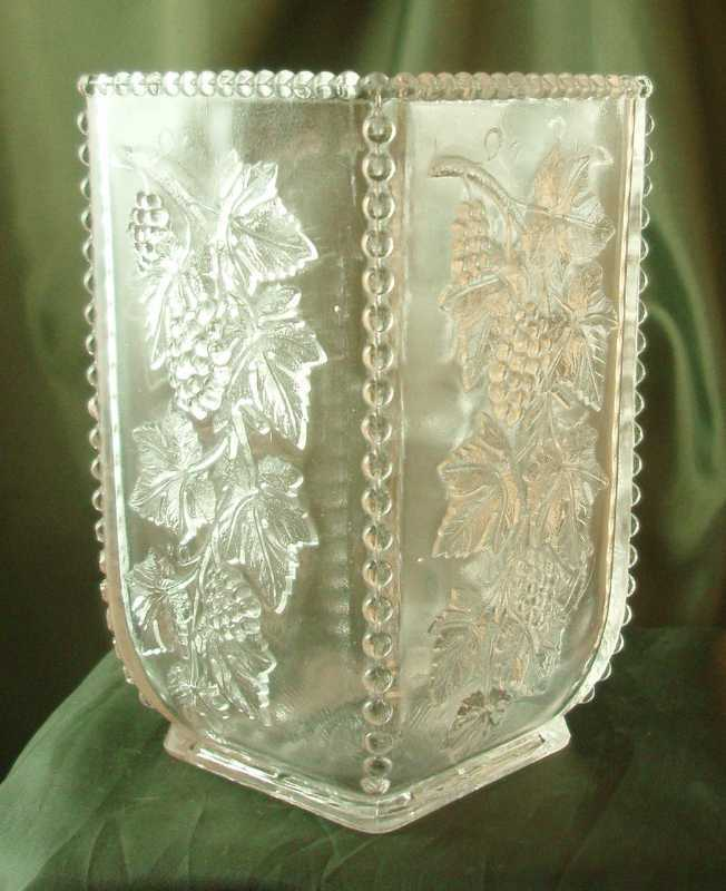 US Glass California Crystal Celery Vase