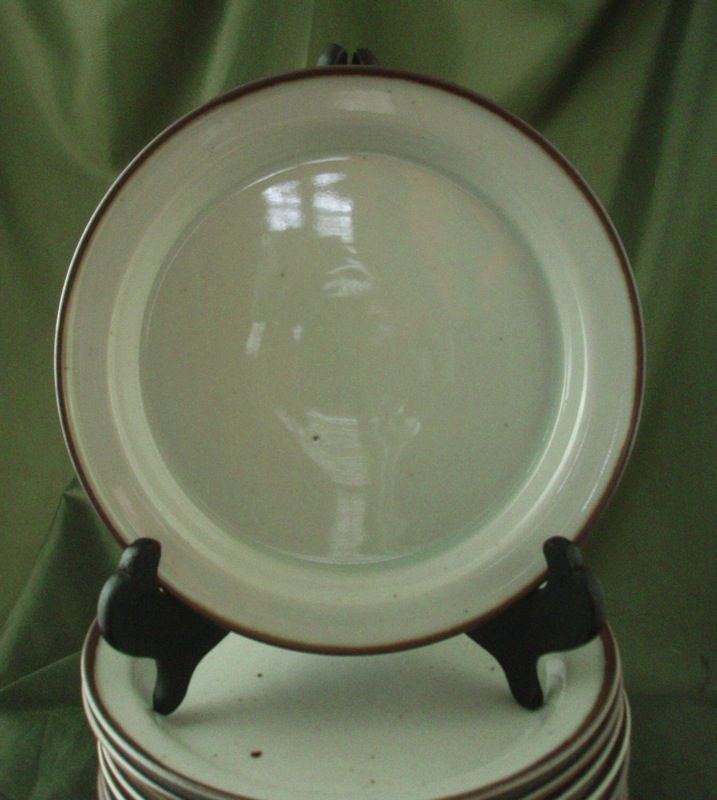 Dansk Generation Brown Mist Salad Plates