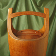 Dansk Design Staved Teak Ice Bucket