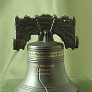 Wedgwood Black Basalt Liberty Bell