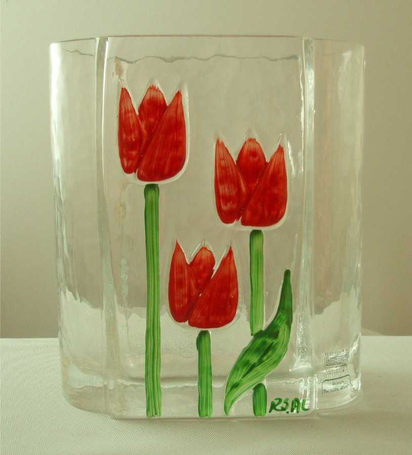 Sea Glasbruk Renate Stock Tulip Vase