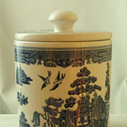Johnson Brothers Blue Willow Canister