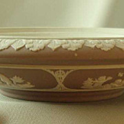 Wedgwood Lilac Dip Jasper Ware Potpourri (Bottom Only)