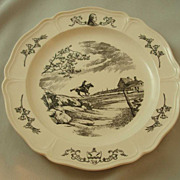Wedgwood Queen's Ware Bicentennial State Plates - Set of Thirteen