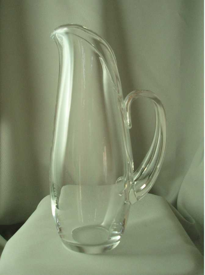 Steuben Water or Martini Pitcher