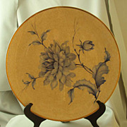 Rosenthal Porcelain Blue & Gold Chrysanthemum Charger