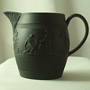 EJ Birch Black Basalt Cream Jug