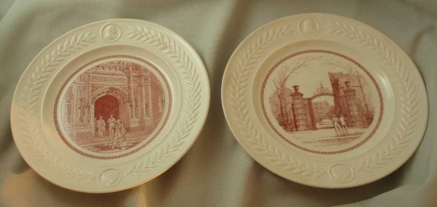 Wedgwood Queens Ware University of Pennsylvania Bicentennial Plates - Set of 12