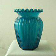 Fenton Jamestown Overlay Vase