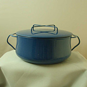 Dansk Blue Kobenstyle Casserole