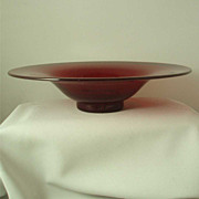 Blenko Ruby #3744 Centerpiece Bowl