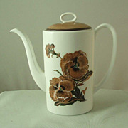 Wedgwood Susie Cooper Reverie Coffee Pot