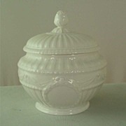 Antique KPM Porcelain Neoclassical Sugar Bowl