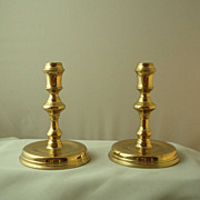 Virginia Metalcrafters Williamsburg Restoration Raleigh Tavern Candlesticks - Pair