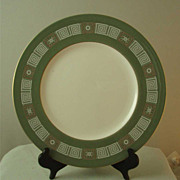 Wedgwood Asia Green Dinner Plates