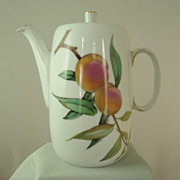 Royal Worcester Evesham Coffee Pot