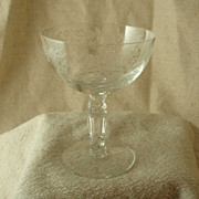 Fostoria Buttercup Etched Sherbets