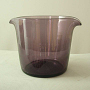Blenko Williamsburg Restoration Amethyst Wine Rinser
