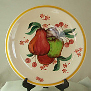 Vernon Kilns Harvest Chop Plate