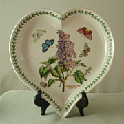 Portmeirion Botanic Garden Lilac Heart-Shaped Dish